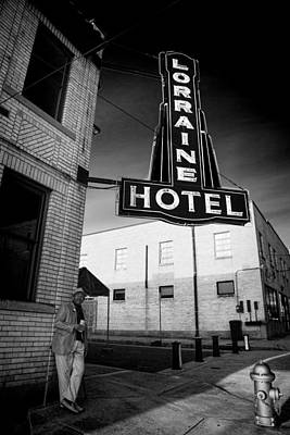 I Have A Dream Wall Art - Photograph - Down At The Lorraine by Stephen Stookey