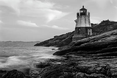Photograph - Down Below Castle Hill Light by Andrew Pacheco