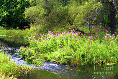Digital Art - Down By The Old Mill Stream by Gene Healy