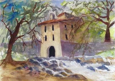 Painting - Down By The Old Mill Stream by Heidi Patricio-Nadon