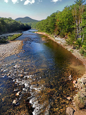 Photograph - Down By The Pemigewasset by Nancy Griswold