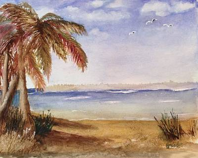 Painting - Down By The Sea by Heidi Patricio-Nadon