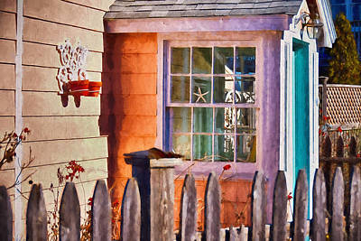 Down By The Seashore Art Print by Tricia Marchlik