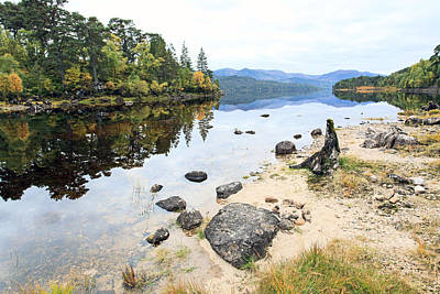 Glen Affric Photograph - Down By The Shore by Anne Corr