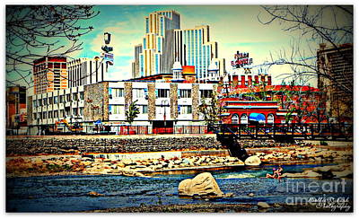 Photograph - Down By The Truckee River  by Bobbee Rickard