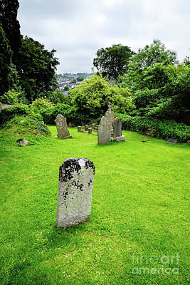 Photograph - Down Cathedral Graveyard In Downpatrick Northern Ireland by Vizual Studio