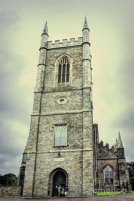 Photograph - Down Cathedral In Downpatrick Northern Ireland by Vizual Studio