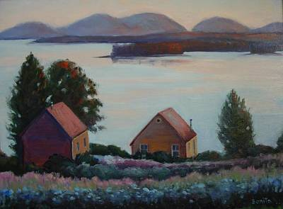Painting - Down East Maine by Bonita Waitl