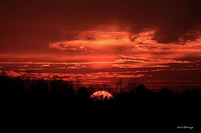 Photograph - Down For The Count Sunset Art by Reid Callaway