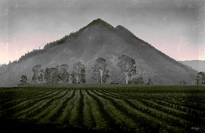 Rural Scenes Digital Art - Down From The Mountain by Holly Kempe