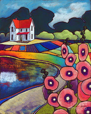 Floral Painting - Down Home by David Hinds