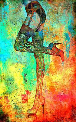 Digital Art - Down Hoser by Greg Sharpe