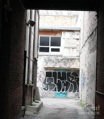 Photograph - Down In The Alley by Margaret Hamilton