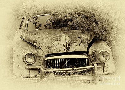 Rusted Cars Photograph - Down In The Dumps 27 by Bob Christopher