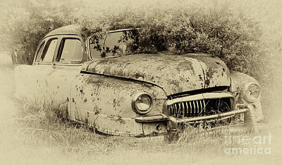 Rusted Cars Photograph - Down In The Dumps 28 by Bob Christopher