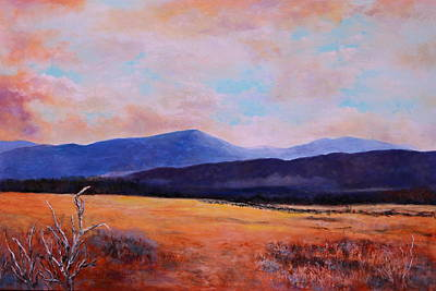 Painting - Down In The Valley by M Diane Bonaparte
