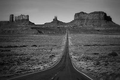 Photograph - Down Into The Valley Of The Gods by Nadalyn Larsen