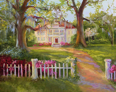 Country Home Wall Art - Painting - Down Near Mcclellanville by Jane Woodward