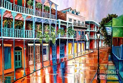 Down On Royal Street Original by Diane Millsap