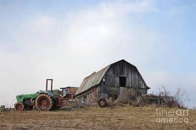 Photograph - Down On The Farm by Benanne Stiens