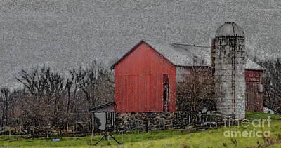 Photograph - Down On The Farm by Grace Grogan