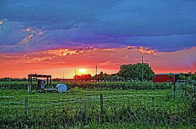 Photograph - Down On The Farm by HH Photography of Florida