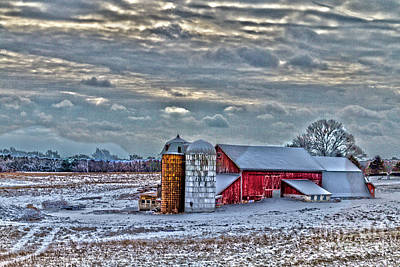 Photograph - Down On The Farm by William Norton