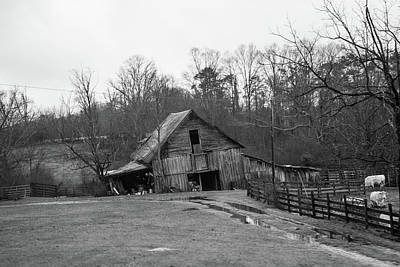 Photograph - Down On The Old Farm Place by Douglas Barnett