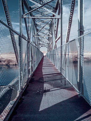 Photograph - Down The Bridge by Greg Nyquist