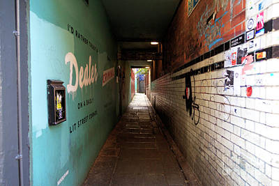 Photograph - Down The Dublin Alley by John Rizzuto