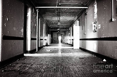 Photograph - Down The Hall by Randall Cogle