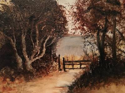 Painting - Down The Path by Sharon Schultz