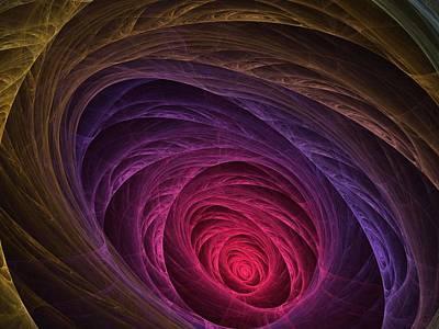 Colorful Art Digital Art - Down The Rabbit Hole by Lyle Hatch