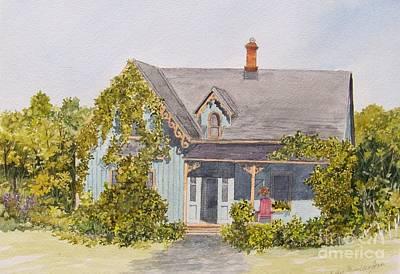 Painting - Down The Road.... by Jackie Mueller-Jones