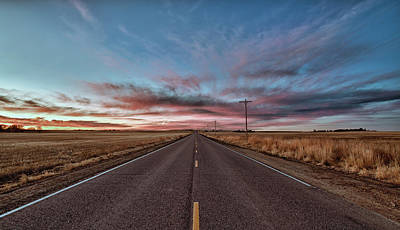 Photograph - Down The Road by Monte Stevens