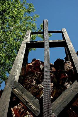 Down The Shaft Virginia City Nv Print by LeeAnn McLaneGoetz McLaneGoetzStudioLLCcom