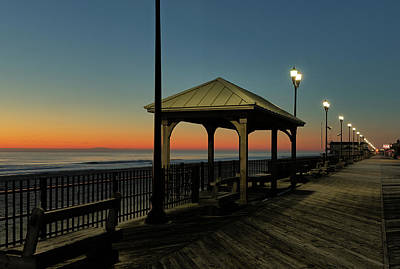 Photograph - Down The Shore At Dawn by Kyle Lee