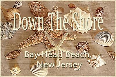 Photograph - Down The Shore - Bay Head Beach, New Jersey by Angie Tirado