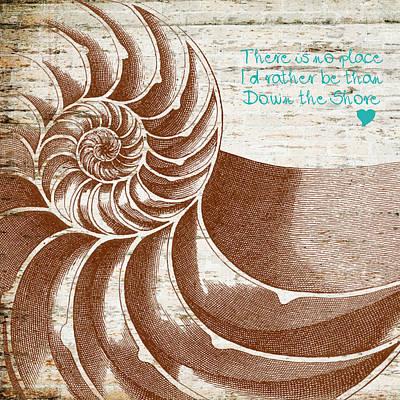 Nj Digital Art - Down The Shore Nautilus by Brandi Fitzgerald