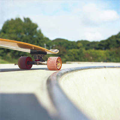 Photograph - Down The Skatepark by Will Gudgeon