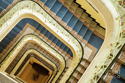 Photograph - Down The Spiral Staircase by Juli Scalzi