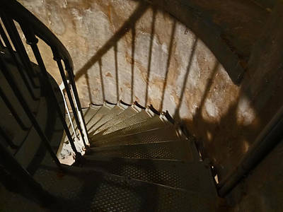 Photograph - Down The Staircase by Jacqueline  DiAnne Wasson