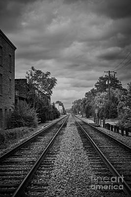 Photograph - Down The Tracks by Graesen Arnoff