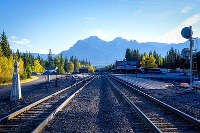 Photograph - Down The Tracks by Keith Boone