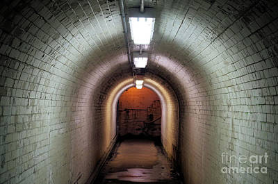 Photograph - Down The Tunnel by John S