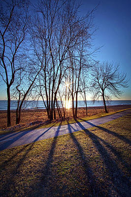 Art Print featuring the photograph Down This Way We Meander by Phil Koch