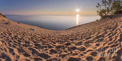 Down To Lake Michigan Print by Twenty Two North Photography