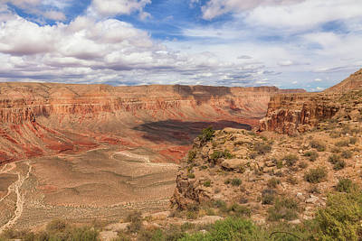 Photograph - Down To Supai by David Cote