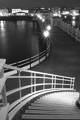 Down To The Pier Art Print