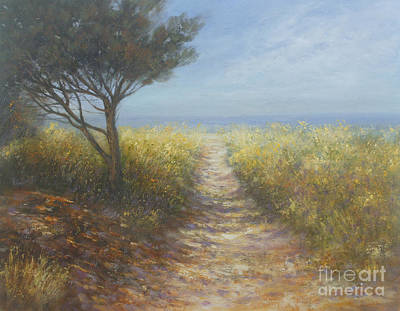Painting - Down To The Sea by Valerie Travers